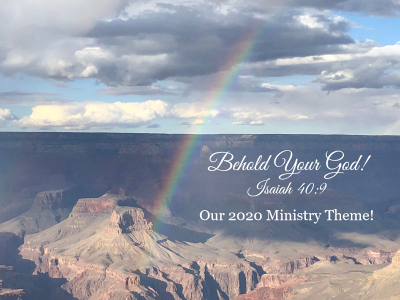 2020 Ministry Theme